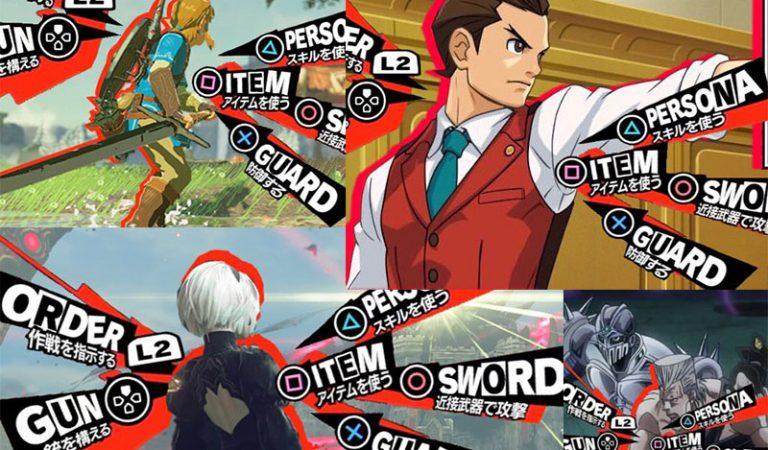 [OPENLIST] +10 Kreasi Meme UI Persona 5 Oleh Gamer