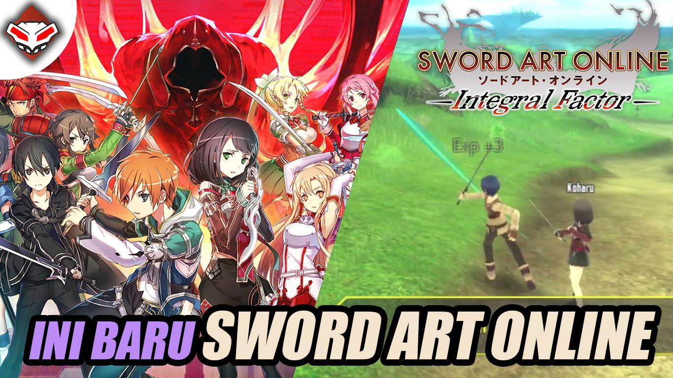 INI BARU GAME SWORD ART ONLINE