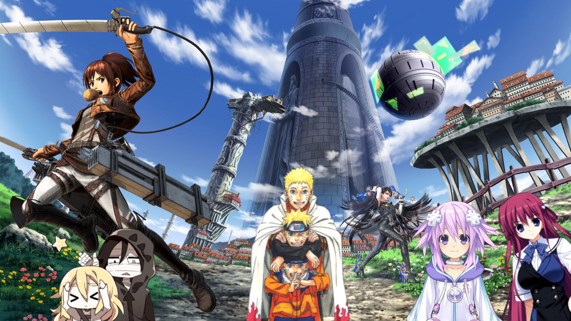 25 Games Anime Yang Paling Disukai Wibu Dan Otaku