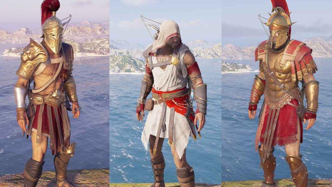assassins creed odyssey assassins armor - 1280×720