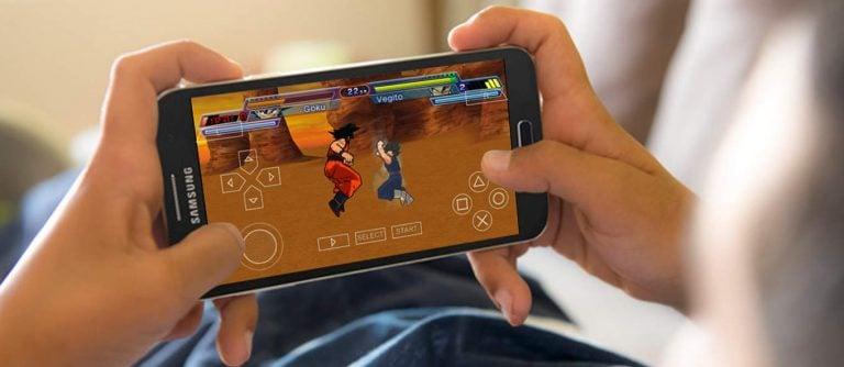 cara mengisi game di psp android