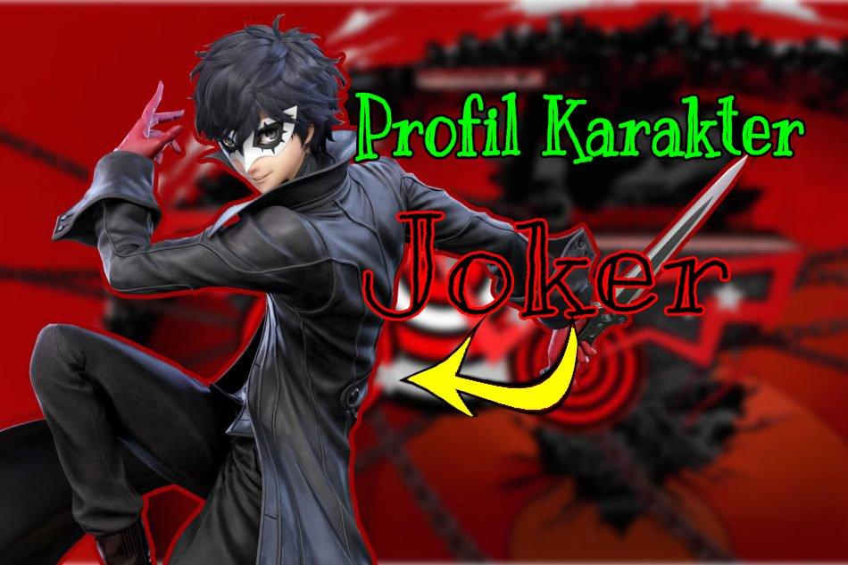 Profil Karakter Joker Super Smash Brosh Ultimate