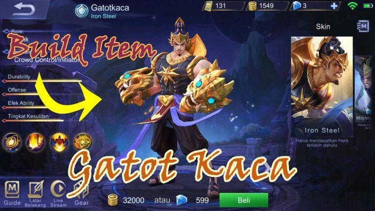 8100 Gambar Mobile Legends Gatot Kaca Terbaru
