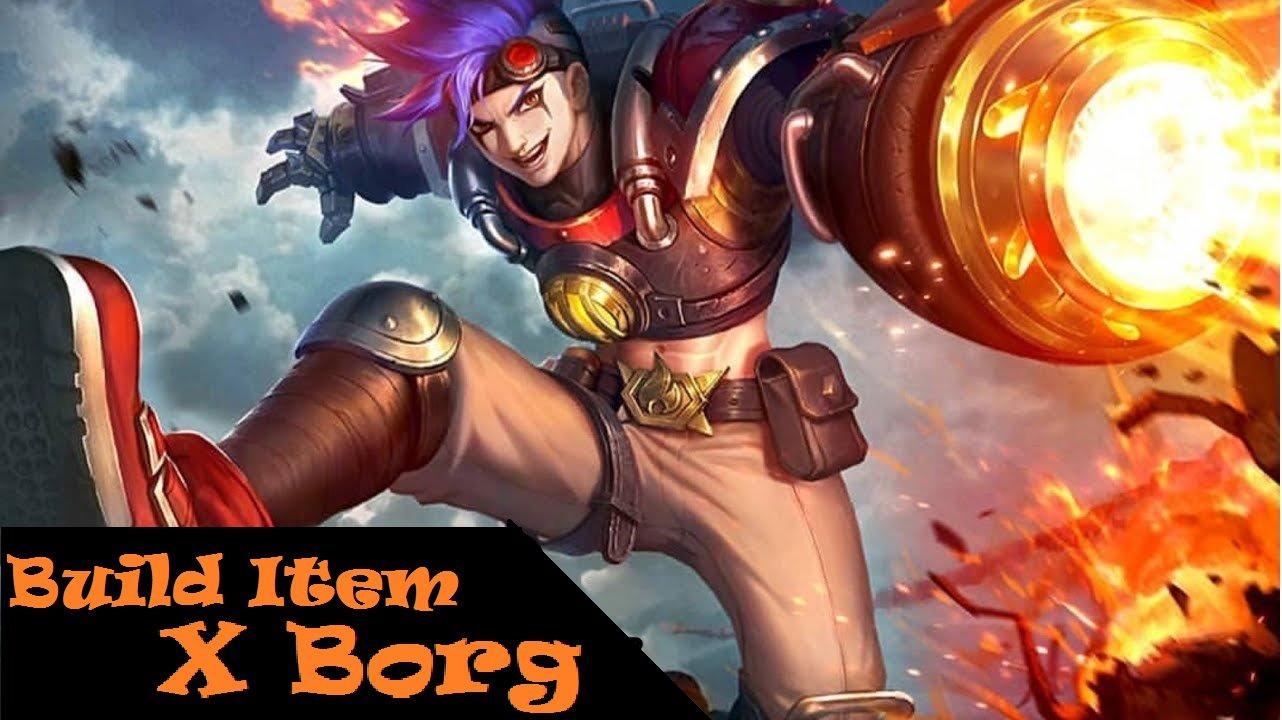 Build Item X Borg
