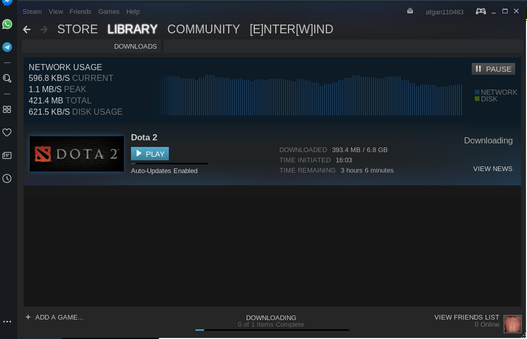 Install on game