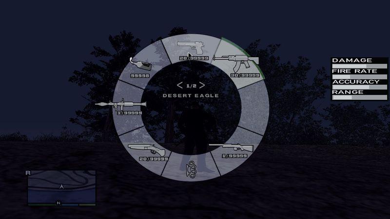 Mod GTA V weapon Scroll
