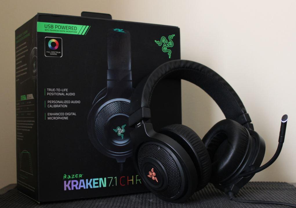 Razer Kraken 7.1 Chroma + Box   sumber: respawn.ninja