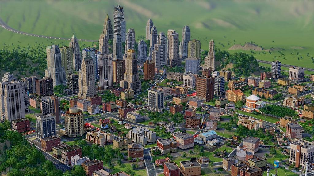 Screenshot gameplay SimCity 5