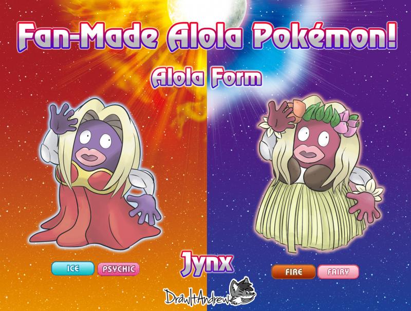 8 Fanmade Alolan Form Pokemon Yang Layak Masuk Kedalam