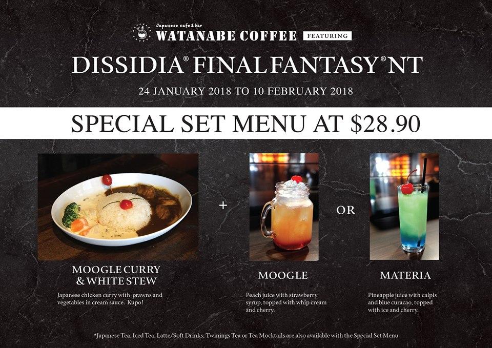 Menu Final Fantasy