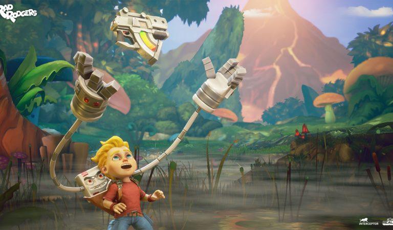 Rad Rodgers: Game Platformers Hardcore yang Akan Hadir Di Xbox One dan PS4