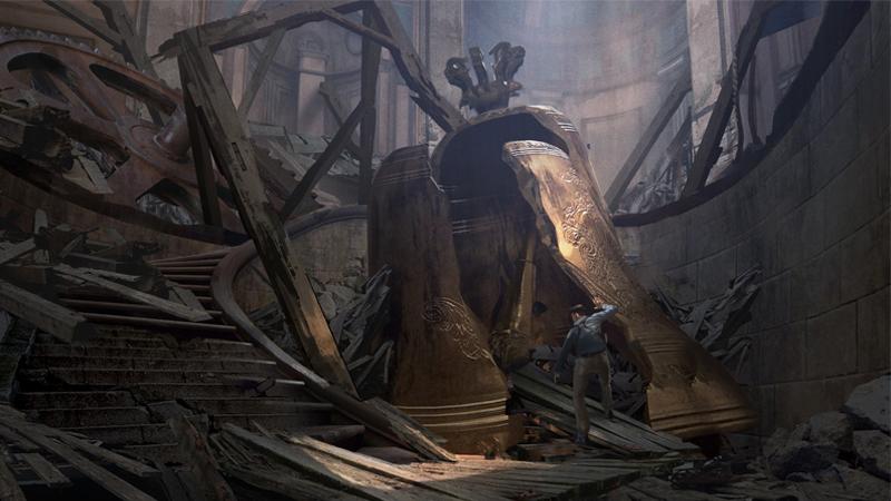 Concept Art Uncharted 4