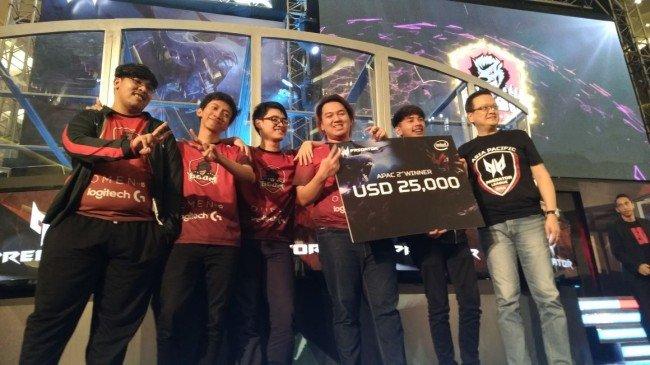 BOOM.ID Amankan Juara 2 di APAC Final Acer Predator League 2018