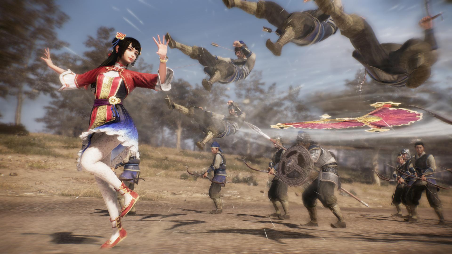 Koei Tecmo Pamerkan Trailer Karakter Baru Dynasty Warriors 9 Unjuk Gaya Bertarung Dan Jurus Spesial Gamebrott Com