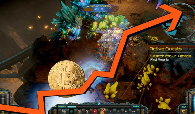 Game ini Gunakan Pergerakan Nilai Bitcoin sebagai Tingkat Kesulitannya