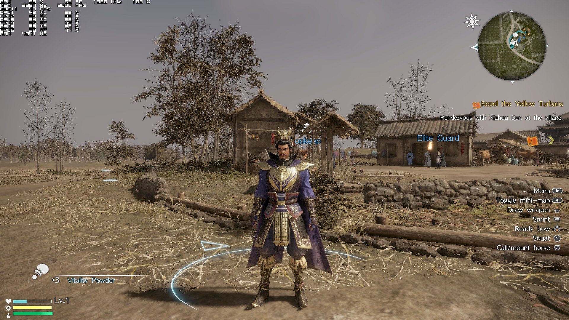 Performa Dynasty Warriors 9 Di Pc Sungguh Kacau Gamebrott Com