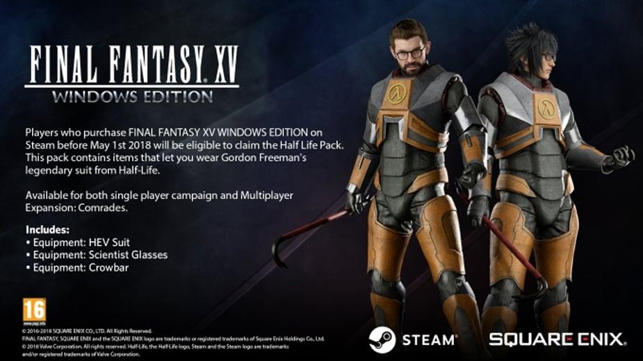 Preload Final Fantasy XV