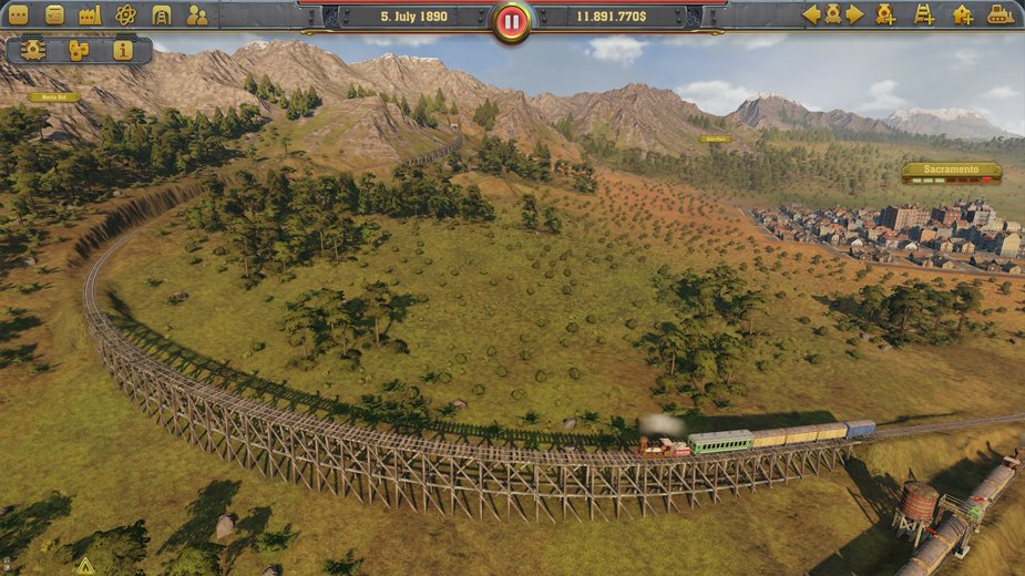 Railway Empire Track
