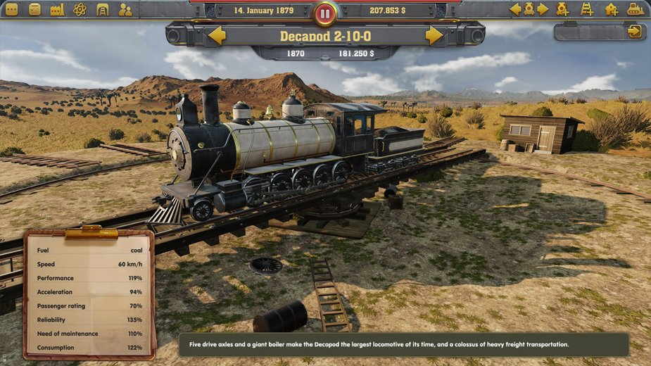 Railway Empire Train