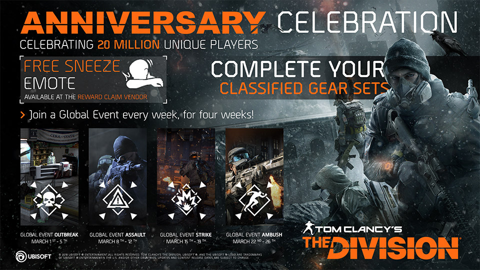 The Division Global Events