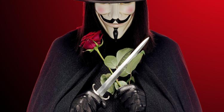 Skin V for Vendetta dan The Big Lebowski