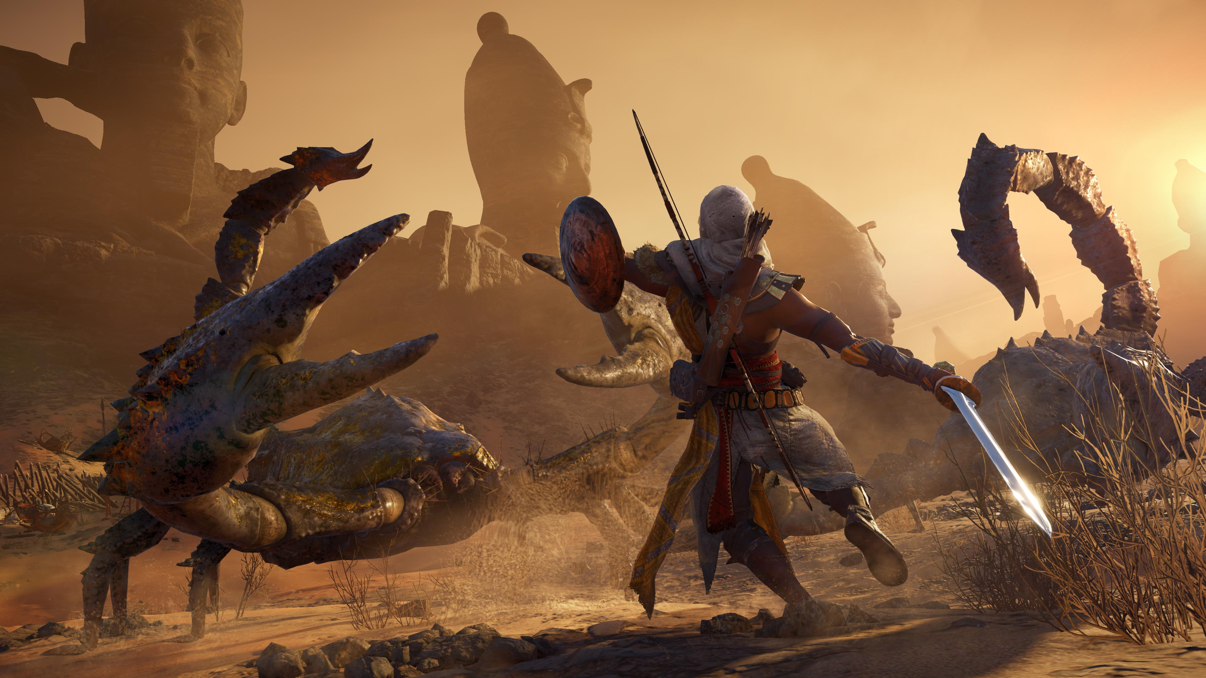 Begini Penampakan Assassin S Creed Origins The Curse Of The Pharaohs Gamebrott Com