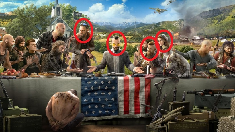 Ubisoft Rilis 4 Trailer Baru Perkenalkan Keluarga Antagonis Utama Far Cry 5 Gamebrott Com