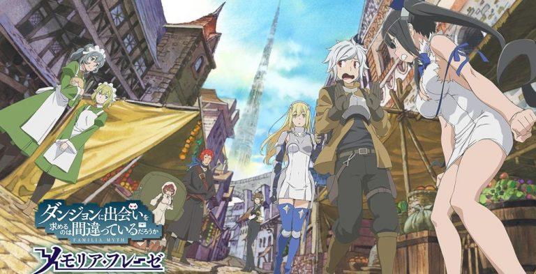 DanMachi Memoria Freese Game RPG Klasik Dengan Sentuhan Anime