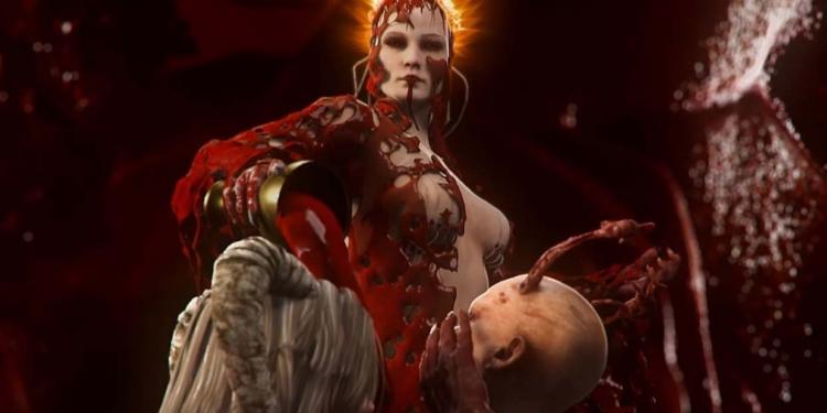 Red Goddess yang jadi tujuan utama gamenya