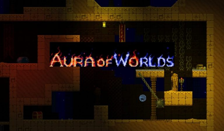 "Aura of Worlds Game Menantang Perpaduan Genre ""Creative Strategy Rogulite Platformer"" Menuju Steam Early Access"