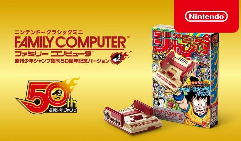 Nintendo Resmi Rilis Mini Famicom Berkelir Emas Yang Sedap Dipandang