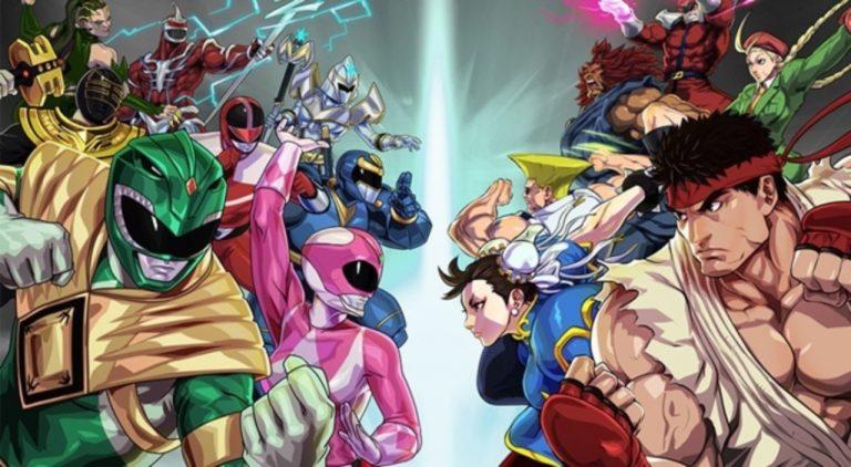 Power Ranger Legacy Wars Hadirkan Karakter Dari Street Fighter V