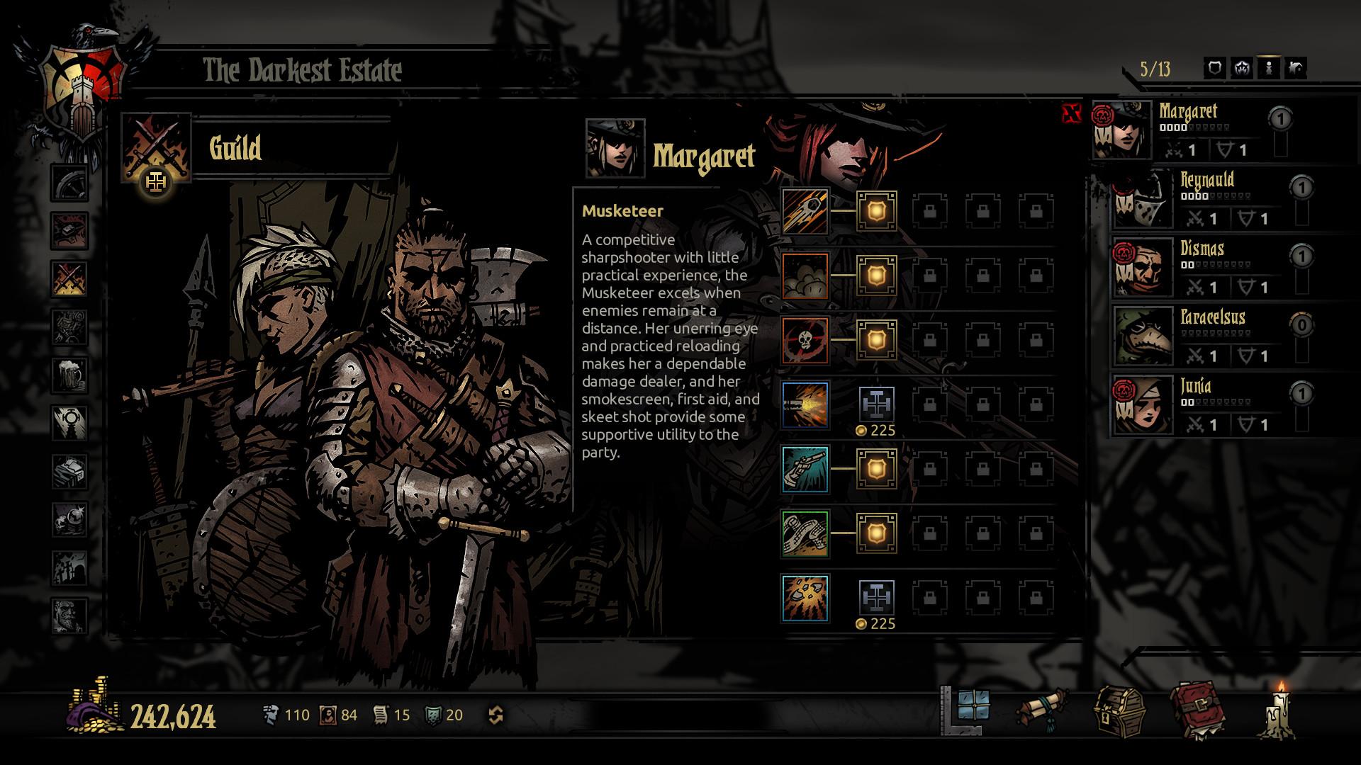 Darkest Dungeon Musketeer