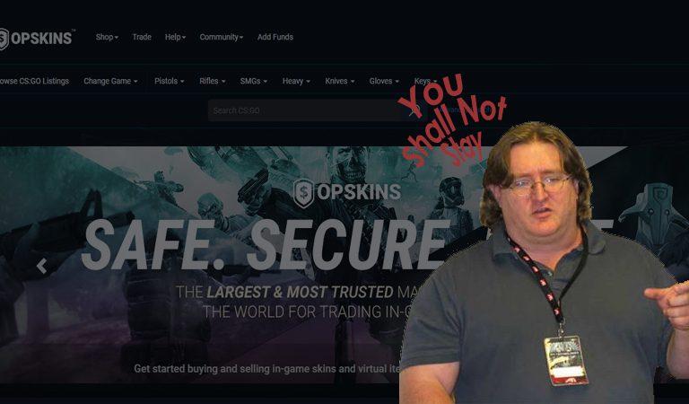 Valve Mendesak OPSkins Untuk Menutup Website dan Usahanya