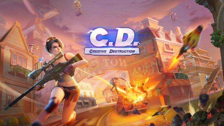 Creative Destruction atau C.D adalah game Battle Royale selanjutnya yang memiliki keunikan tersendiri.