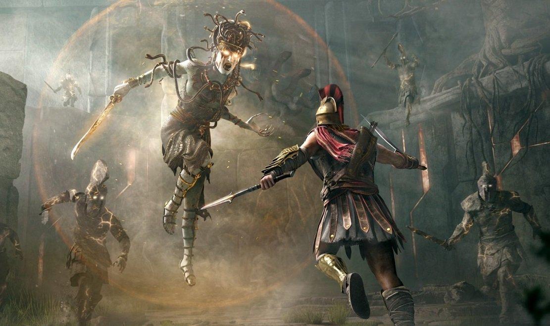 Simak Pertarungan Alexios Melawan Medusa Dalam Gameplay Terbaru