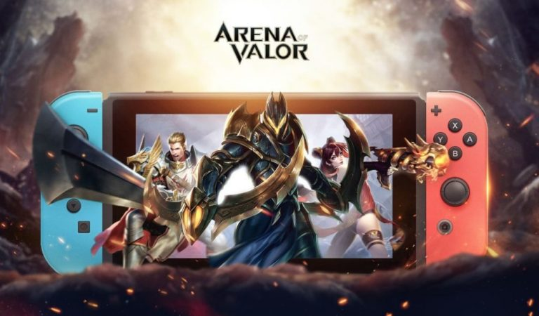 AOV Rilis Di Nintendo Switch, Player AOV Mobile Dapat Gold Gratis!