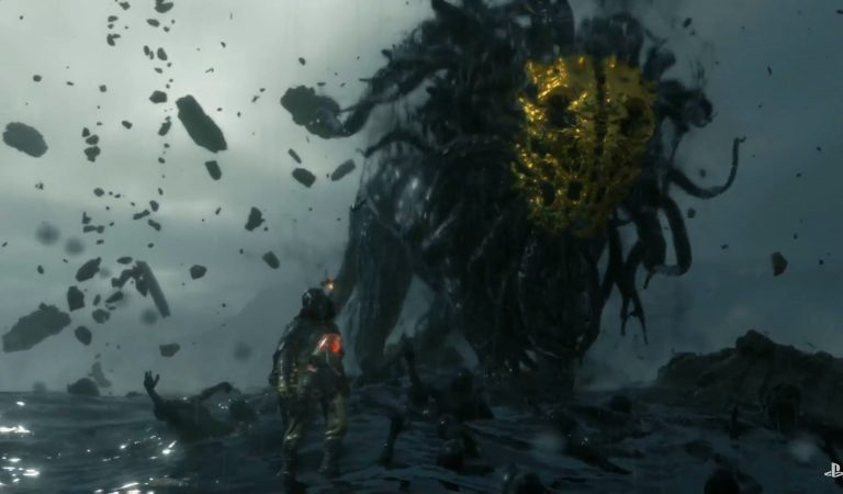 Troy Baker Panggil Monster Raksasa di Cuplikan Terbaru Death Stranding!