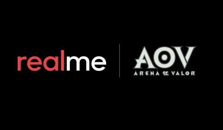 Realme Ajak Garena Indonesia dan AOV untuk Optimalkan Pengalaman Bermain
