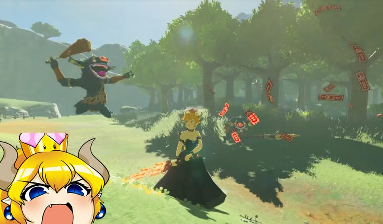 Mod Bowsette Segera Sambangi The Legend of Zelda: Breath of The Wild