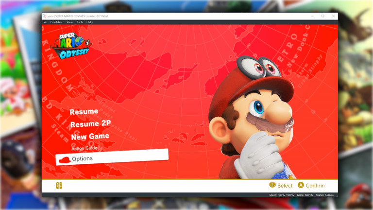 Emulasi Super Mario Odyssey Hampir Sempurna dengan Emulator