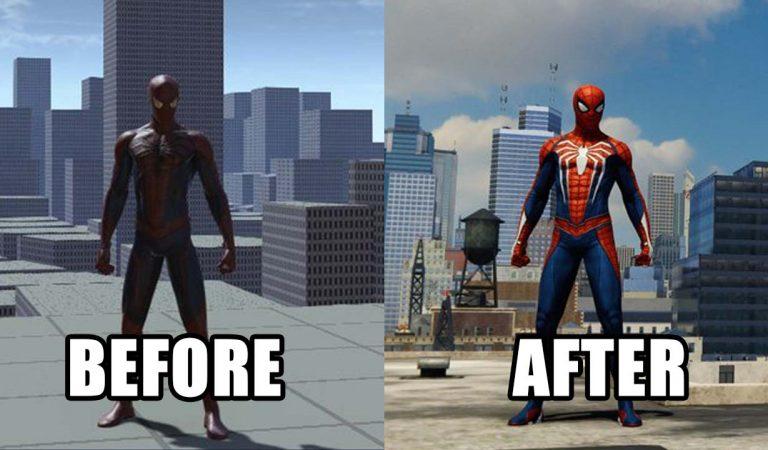 Designer Spider-Man Pamerkan Wujud Gamenya Sebelum Dirilis