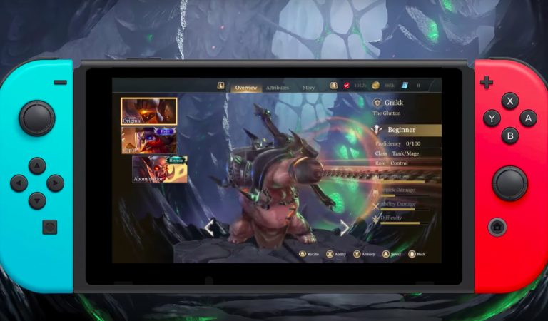 Arena of Valor (Switch):  Cara Update Manual Patch (Ver. 1.0.4)