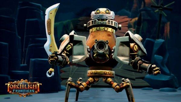 Torchlight Frontiers Kedatangan Class Baru Robot Petarung – Forged