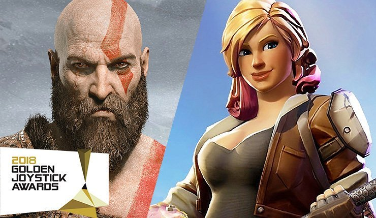 God of War Dominasi Golden Joystick Awards 2018, Fortnite Menangkan Game of The Year