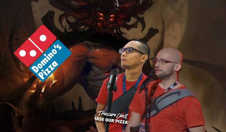"""Manfaatkan """"Meme Diablo Immortal"""" Domino Promosikan Pizza-nya"""