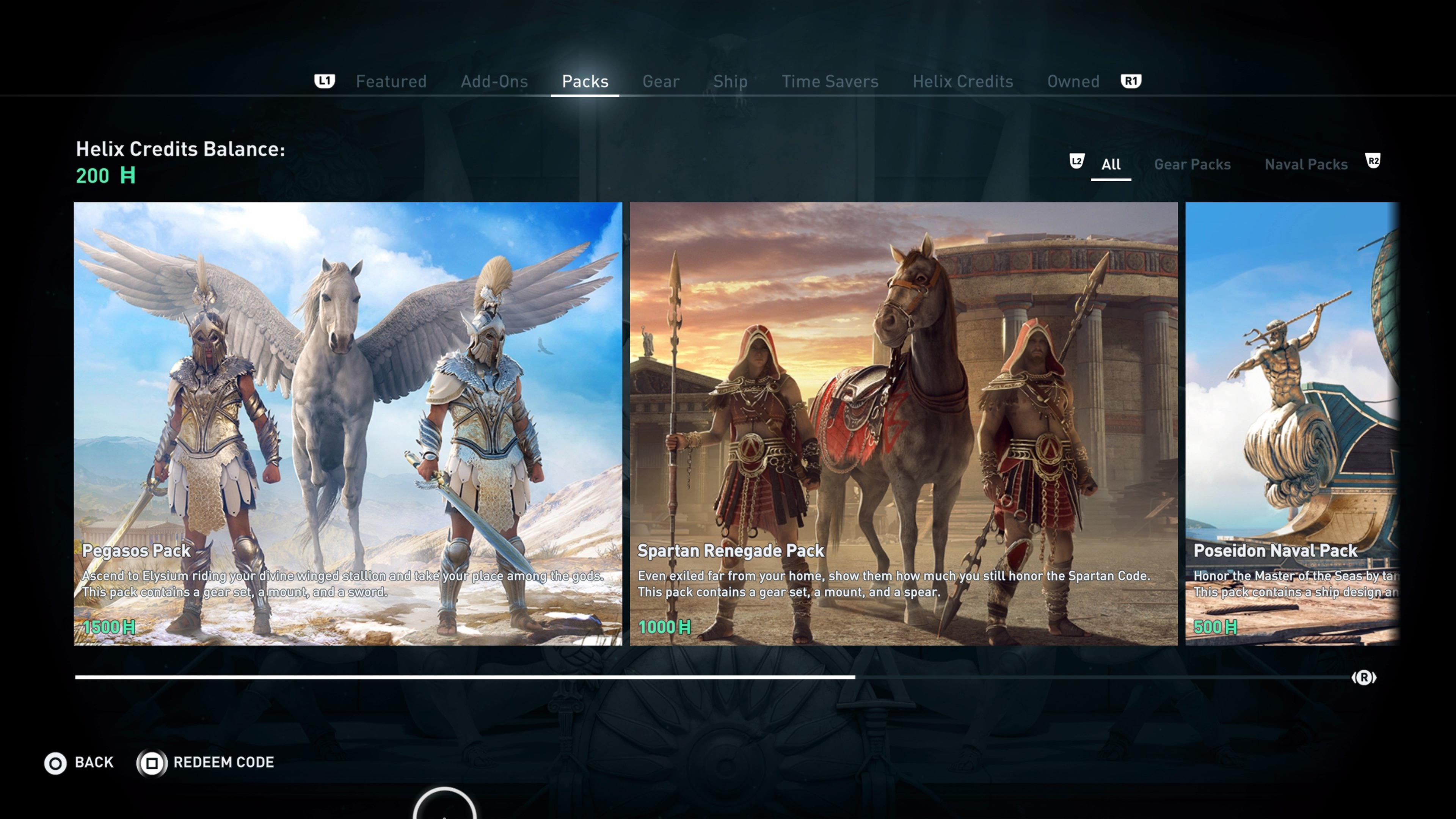 assassins creed pegasos gear - HD 3840×2160