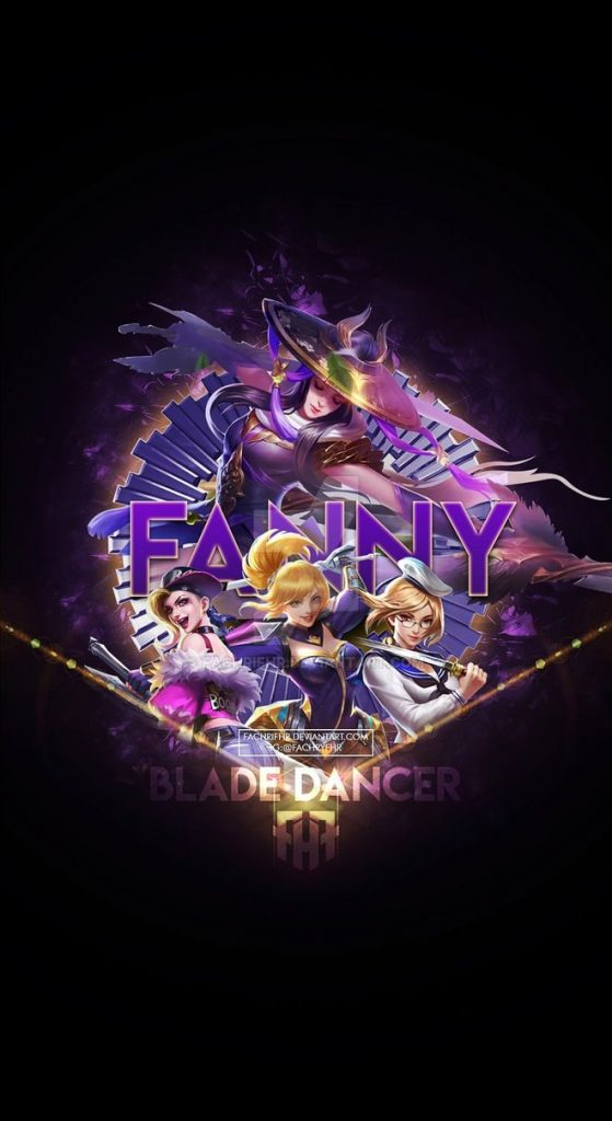 wallpaper phone special fanny blade dancer by fachrifhr dchamyh