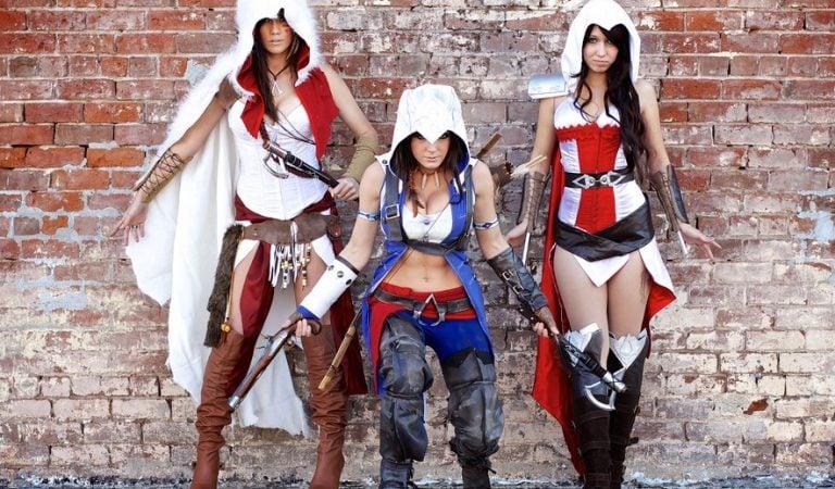 "30 Foto Cosplay Assassin's Creed Female Version Paling ""Menyegarkan"""