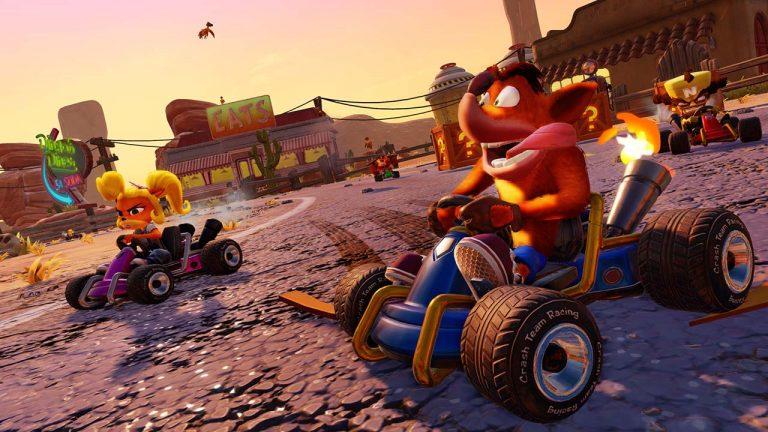 Hasil gambar untuk Crash Team Racing remake